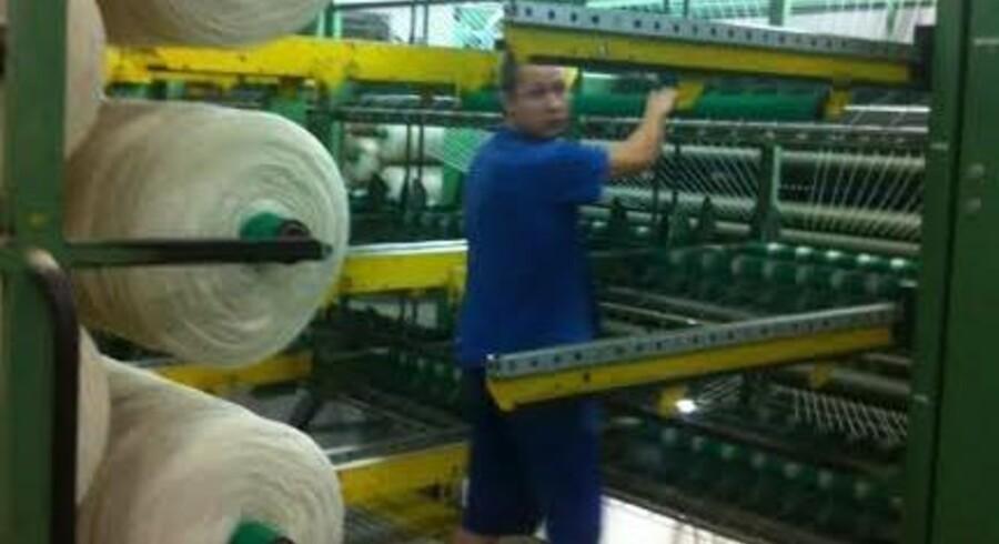 Hvis Danspin var forblevet i Ikast, ville virksomheden være blevet lukket. Efter flytning til Litauen har Danspin nu udviklet sig til at være en af de største garnproducenter i Europa. Foto: Rikke Brøndum