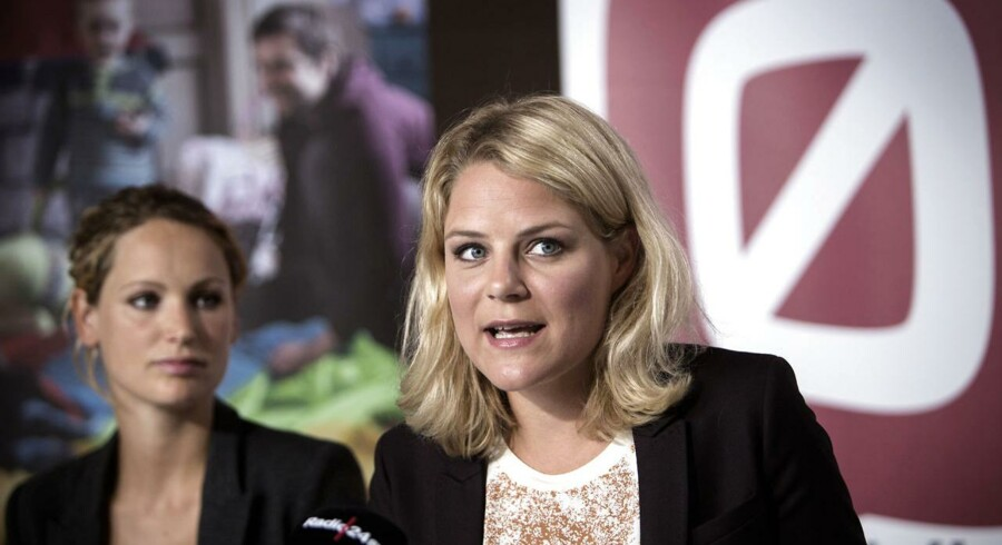 Johanne Schmidt-Nielsen og Pernille Skipper - nutiden og fremtidens frontfigur i Enhedslisten?