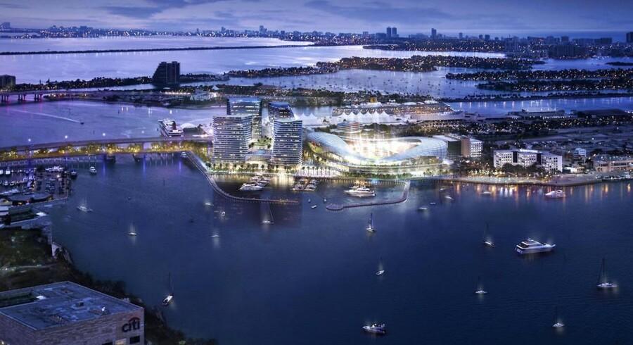 Sådan forventes Beckhams drømme-stadion, at tage sig ud. (Arkivfoto, red.)