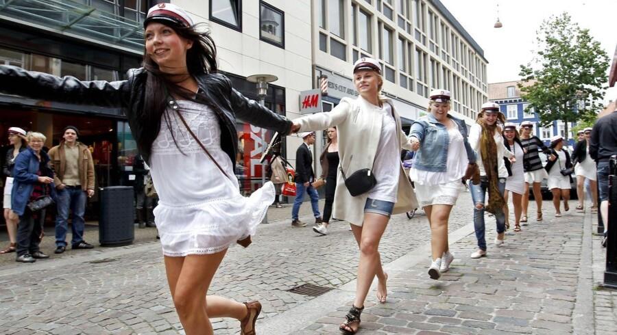 Erhvervsakademierne optager i stigende grad unge fra gymnasieuddannelser. Arkivfoto