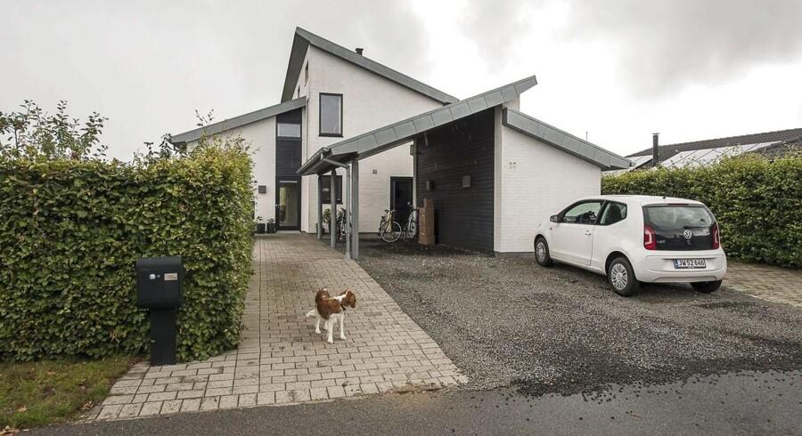 Krisen skar en fjerdedel af udgiften på et hus væk. ARKIVFOTO.