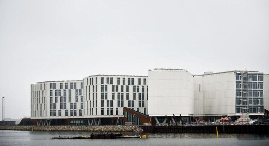 Anden og sidste etape af den store FN-by på Marmormolen ved Nordhavn er nu klar og kan snart tage imod 600-700 FN-ansatte.
