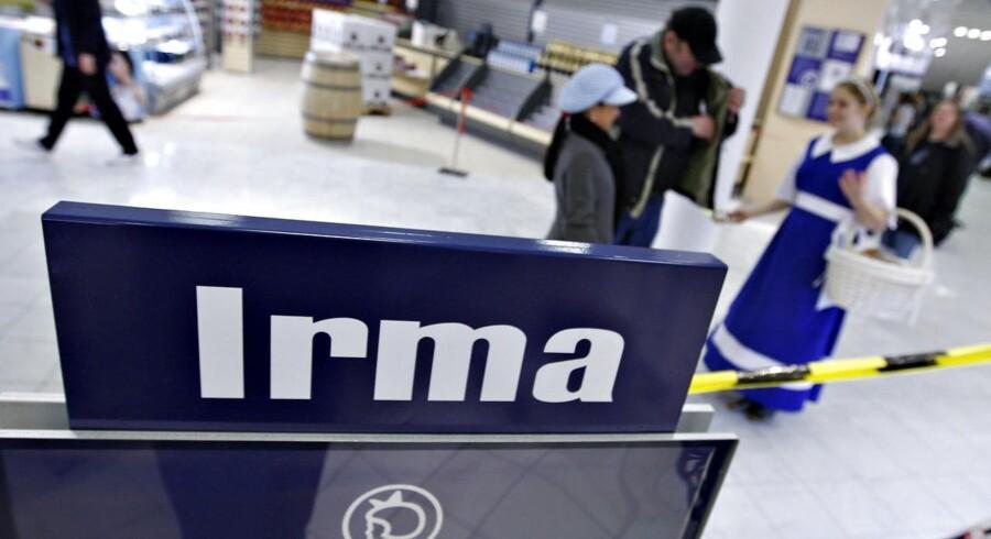 Irma har ikke haft held med sin provinssatsning. Her et billede fra åbningen af en butik i Aarhus C.