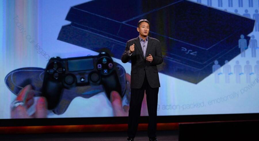 Sonys topchef, Kazuo Hirai, udvider nu forretningen til ikke-Playstation-ejere. Foto: Ethan Miller, Getty/AFP/Scanpix