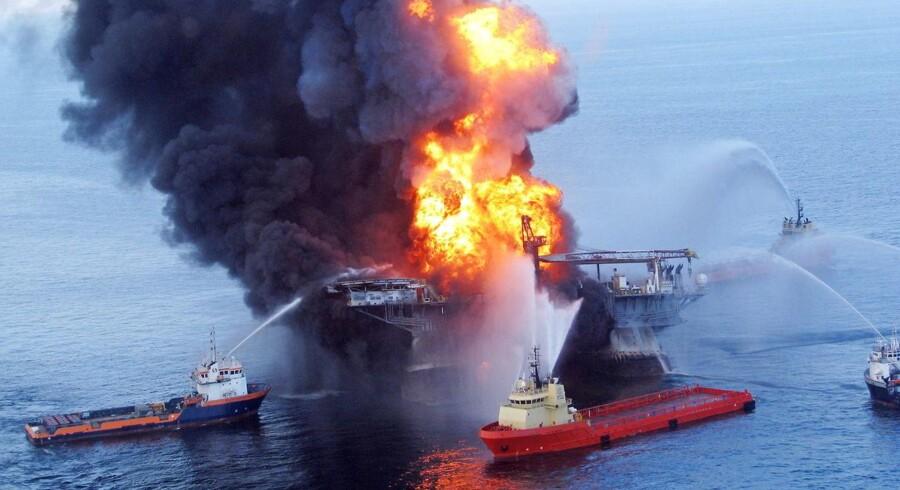 Olieselskabet BP kæmper stadig for at begrænse omkostningerne i forbindelse med Deepwater-skandalen i 2010.