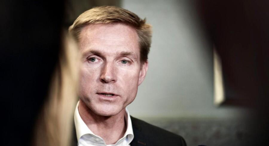 Kristian Thulesen Dahl mener ikke, at de nuværende forhandlinger lægger op til et regeringssamarbejde mellem Venstre og Dansk Folkeparti.