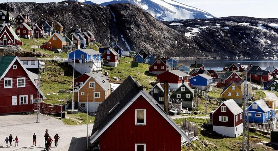 Upernavik i Vestgrønland den 11 juli.