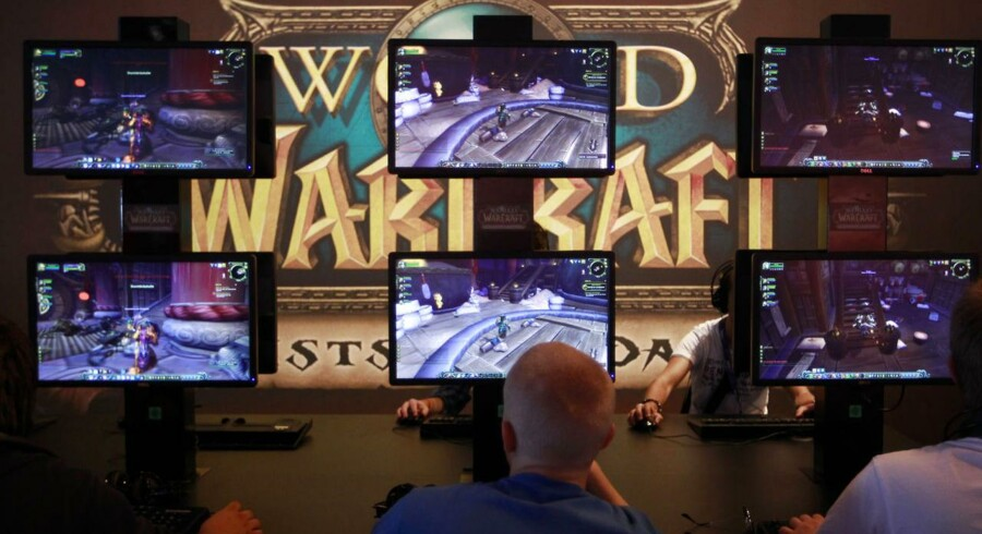 »'World of Warcraft« har efterhånden mange år på bagen men kan stadig samle nye spillere. Arkivfoto: Ina Fassbender, Reuters/Scanpix