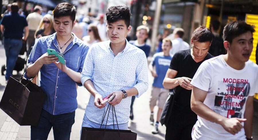 80 millioner kinesere rejser hvert år på ferie, og den danske turistbranche vil meget gerne tiltrække så mange som muligt af dem.
