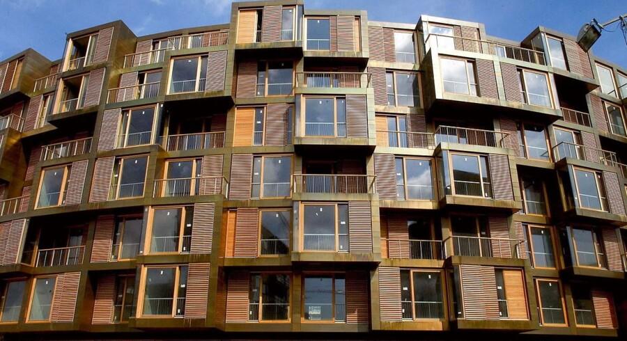 ARKIVFOTO. Tietgenkollegiet i Ørestad på Amager. Hos Centralindstillingsudvalget (CIU), der administrerer 4.744 københavnske ungdoms- og studieboliger, oplever man endnu engang et rekordstort antal studerende, som står uden bolig.
