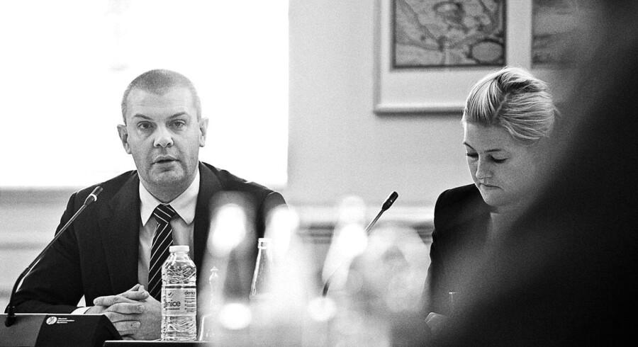Finansminister Bjarne Corydon