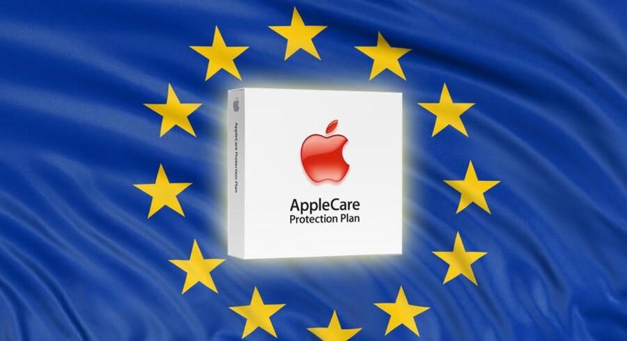 Alle EU-lande er omfattet af en fælles - og gratis - købsgaranti, som Apple ikke er gode nok til at oplyse om, når de i stedet forsøger at sælge deres egen garantiordning AppleCare til sine kunder. Det skal der nu laves om på.