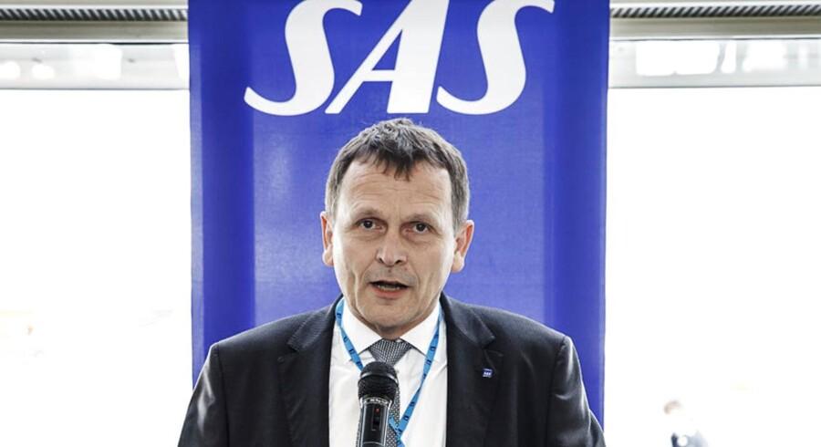 I dag annoncerede Flemming Jensen, næstkommanderende i SAS, at han er den nye topchef i DSB.