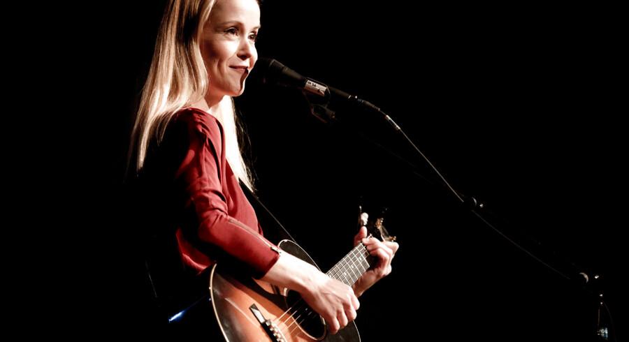 Tina Dickow åbner sin turne i Glassalen i Tivoli torsdag aften den 7. februar. (Foto: Linda Kastrup/Scanpix 2013)