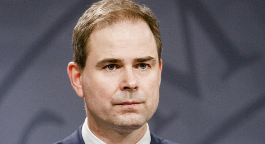 Arkivfoto. To mænd er er sigtet for at planlægge et attentat mod en dansk minister, der ifølge Ekstra Bladet er forsvarsminister Nicolai Wammen (S).