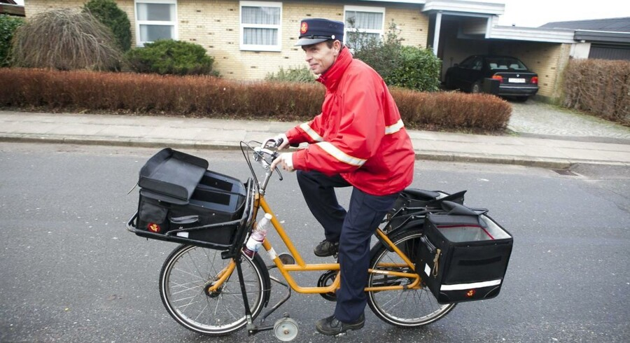 Postbudene har haft mindre travlt i årets første måneder.