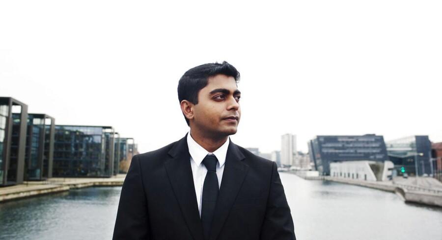 Indiske Manas Mani, der arbejder i Nordea Capital Markets og har studeret i Danmark, er et eksempel på en af de udlændinge, som Danmark gerne vil have fat i.