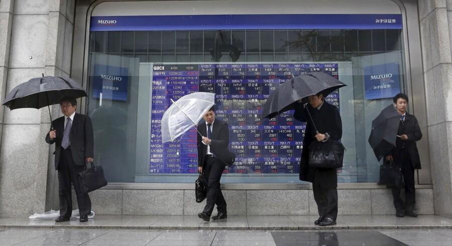 Der er igen en generel positiv stemning på de fjernøstlige aktiebørser tirsdag morgen.