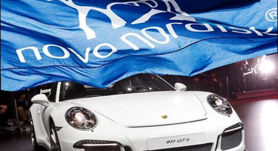 Novo Nordisk kan være på vej til at blive verdens mest værdifulde medicinalselskab - Novo er allerede mere værd end hele VW-koncernen med blandt andet Porsche, Audi og Volkswagen. Foto: Sigrid Nygaard og Scanpix