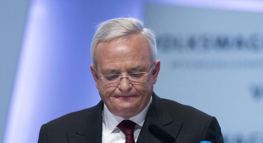 Afgående VW-topchef er ikke sigtet, selvom den tyske anklagemyndighed i sidste uge meddelte, at han var.