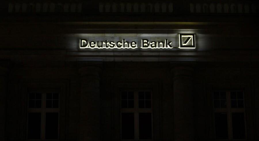 Deutsche Bank er blandt de banker mydinghederne i Burxelles er ved at forberede bøder i milliardklassen til.