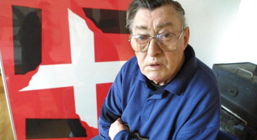 Tidligere modstandsformand Frede Klitgård er død, 92 år.