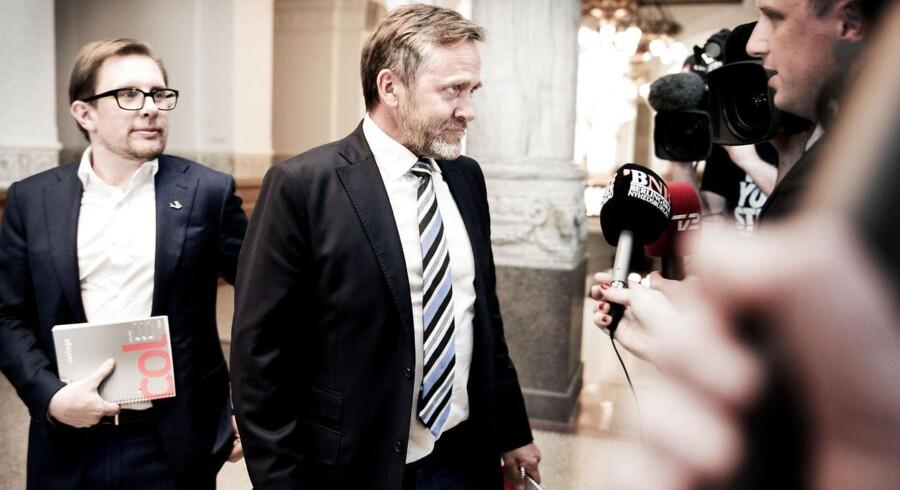 Anders Samuelsen og Simon Emil Ammitzbøll fra Liberal Alliance.