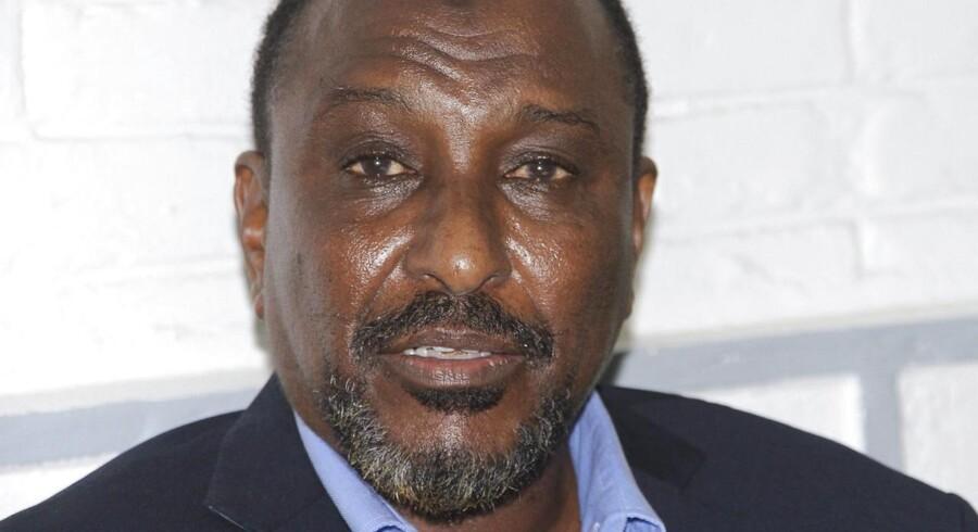 ARKIVFOTO. Mohamed Abdi Hassan, også kendt som 'Big Mouth'.