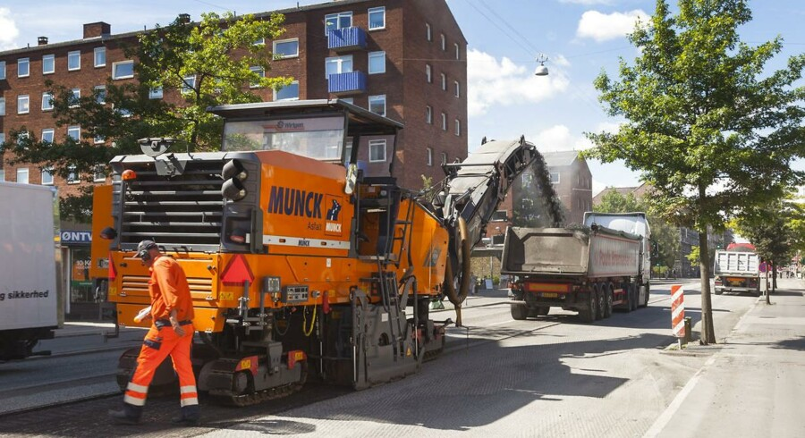 Mens entreprenørbranchen generelt har svært ved at tjene penge, så gik det godt i 2012 for Munck Gruppen med hovedsæde i Nyborg.
