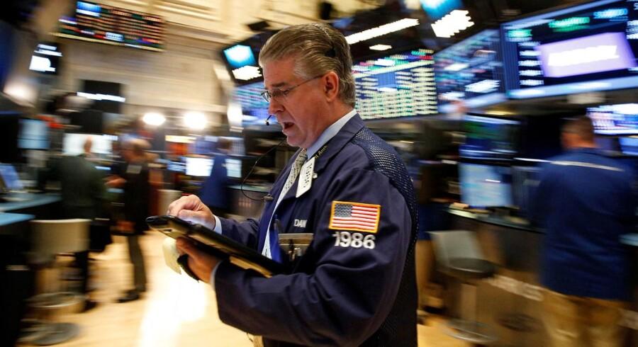 Det amerikanske aktiemarked er i hopla.