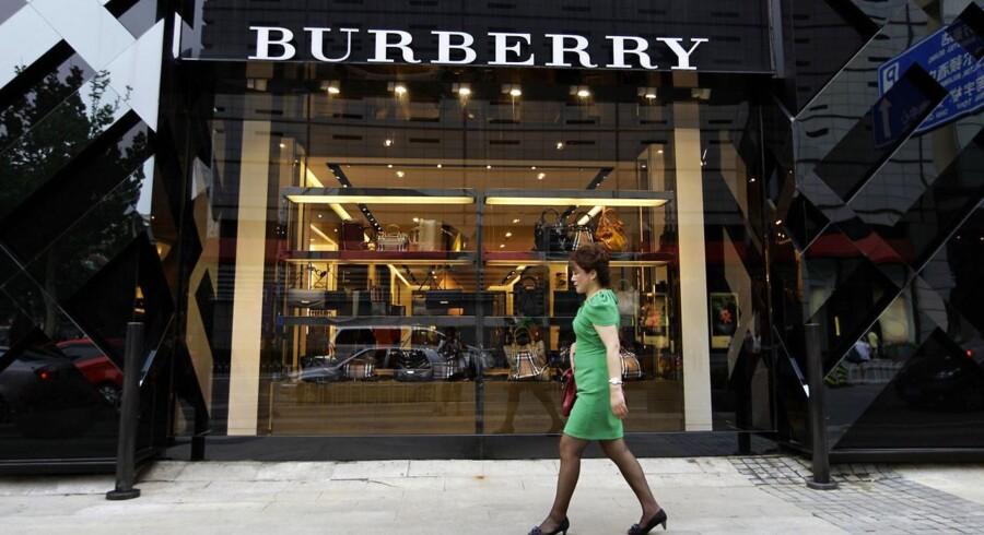 Salget af luksusvarer er på retur i Asien.