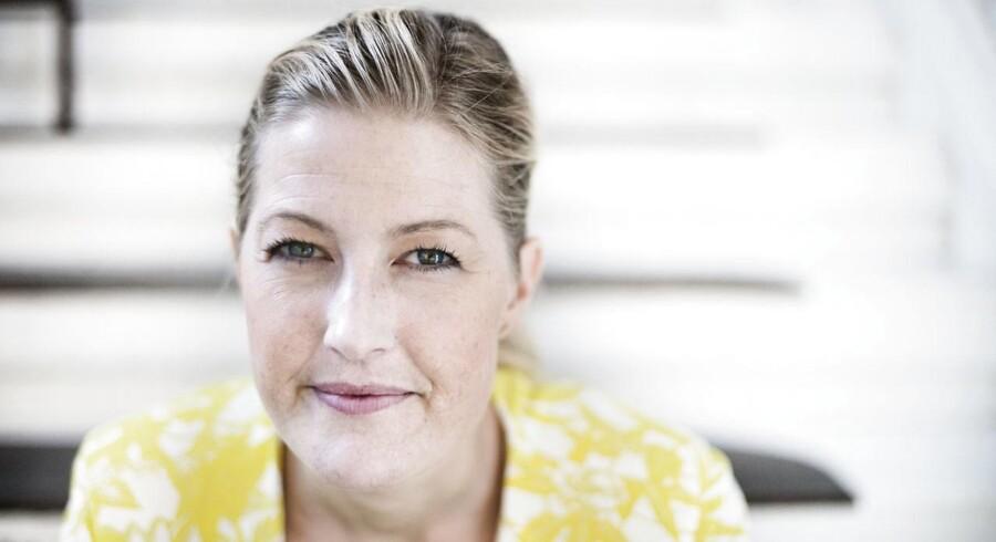 Uddannelsesminister Sofie Carsten Nielsen (R).