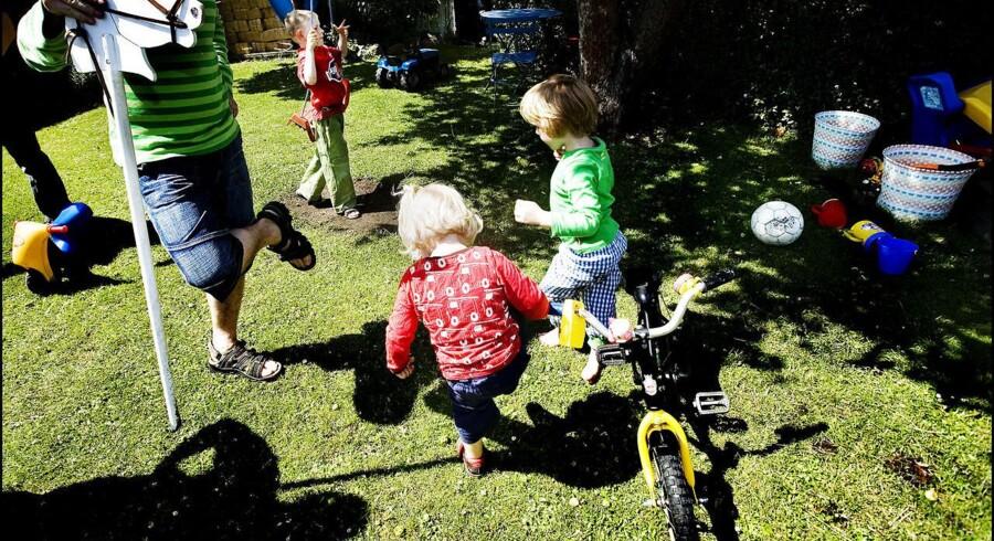 Din græsplane kan indeholde giftstoffer, der kan skade dine børn.