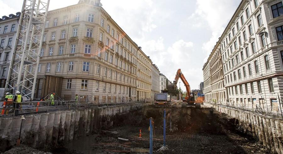 Arbejdsmiljøet under byggeriet af den nye Metro-linje halter tilsyneladende voldsomt.