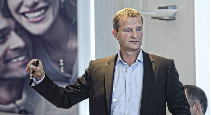 (FILES) This file picture taken on September 20, 2010 the CEO of Danish jewellery maker Pandora, Mikkel Vendelin Olesen. Pandora on October 5, 2010 completed one of Europe?s biggest initial public offerings this year by selling DKr9.96bn ($1.84bn) of shares in a Copenhagen listing. AFP PHOTO / Jens Nørgaard Larsen / Scanpix 2010