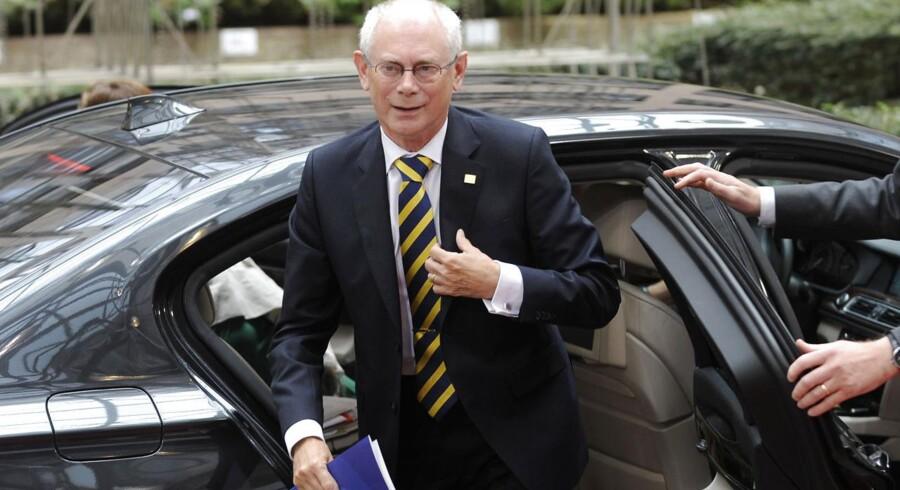 Formanden for Det Europæiske Råd, Herman van Rompuy.