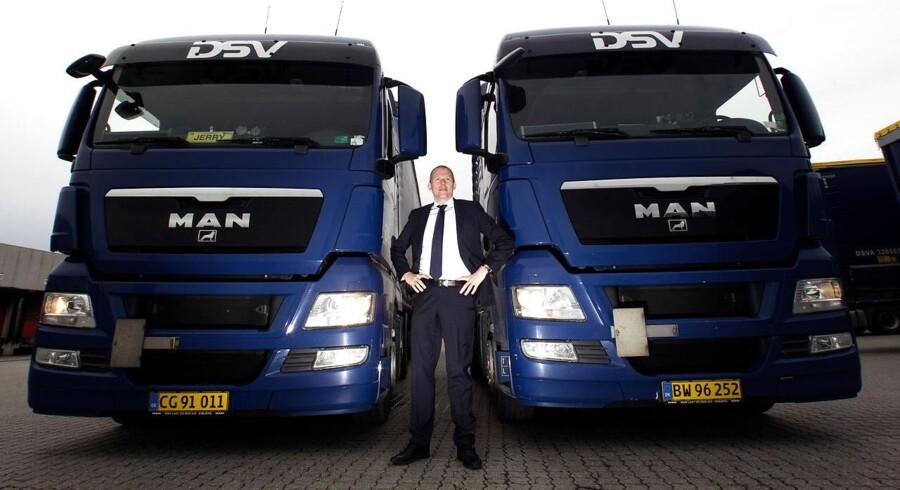 Lastbiltransport trækker ned hos DSV. Verdens sjettestørste speditørvirksomhed kom ud af 2014 en kende under forventningerne. Det er især den store lastbildivision, der trækker ned.