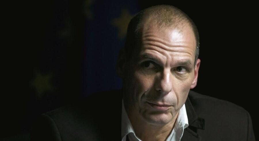 Den græske finansminister Yanis Varoufakis