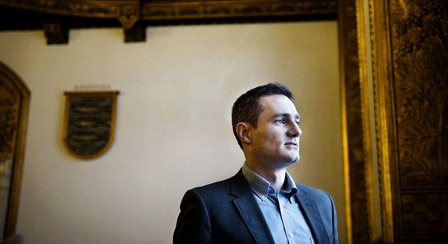 De Konservatives spidskandidat, Rasmus Jarlov, vil nedbringe bureaukrati og give erhvervslivet mere at skulle have sagt