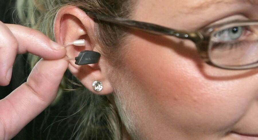 Høreapparat-delen GN ReSound leverede organisk vækst på 8 procent, især trukket frem af en vækst i USA.