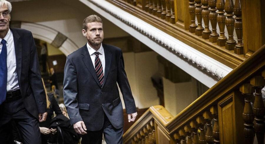 ARKIVFOTO. Ifølge de Konservatives retsordfører, Tom Behnke, er tilliden til Justitsministeriet dalet de seneste år.