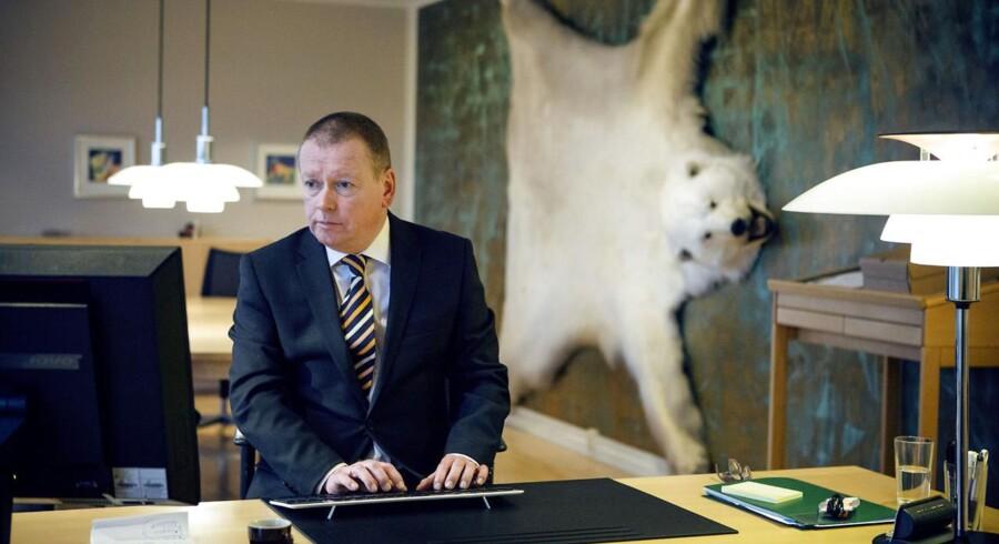 Adm. direktør Jens Bærentsen glæder sig over, at Alkas strategi fortsat giver pote.