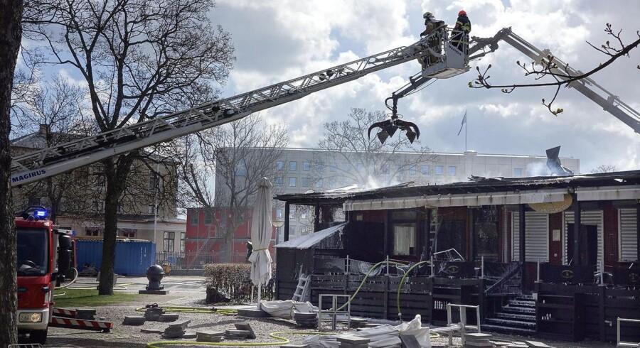 På Frihedsmuseet skildres besættelsestiden i Danmark fra 1940 til 1945. Store dele af bygningen blev skadet i flammerne, men alle museumsgenstande blev reddet ud.