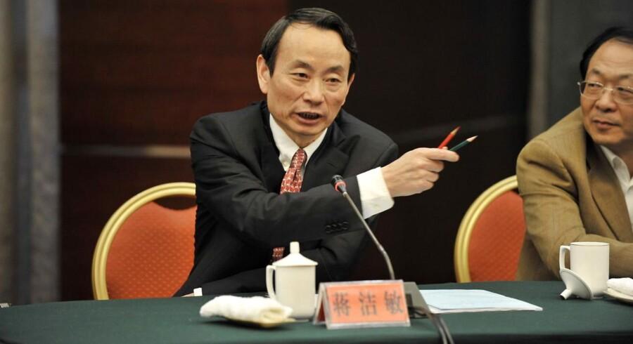 lederen af den overvågningskommission, der har til opgave at holde øje med 100 af Kinas største statsvirksomheder.Ifølge Reuters har myndighederne indledt en efterforskning af kommissionens leder Jiang Jiemin