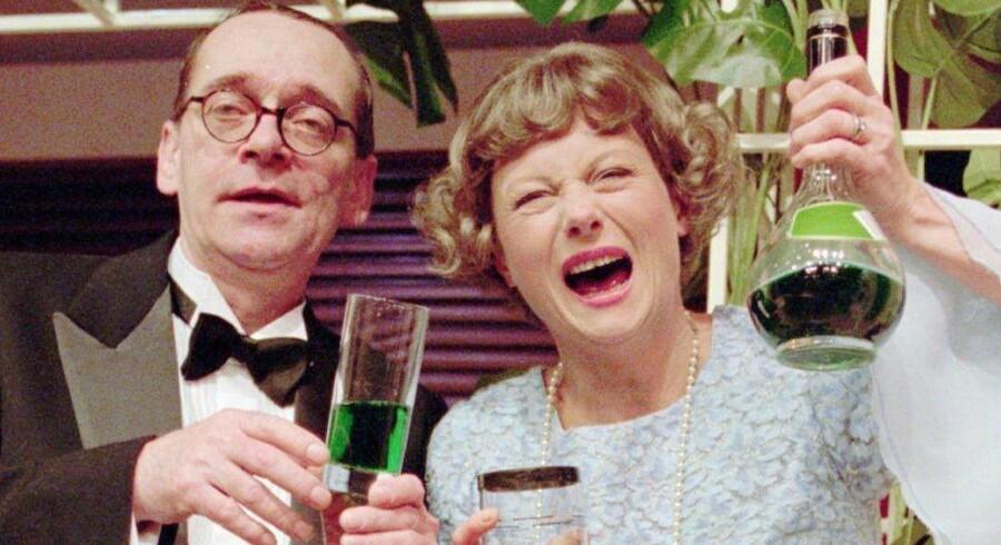 Lisbeth Dahl og Claus Ryskjær har spillet »Den grønne elevator« hele tre gange – i 1986, 1996 og 2000. Foto: Niels Meilvang.
