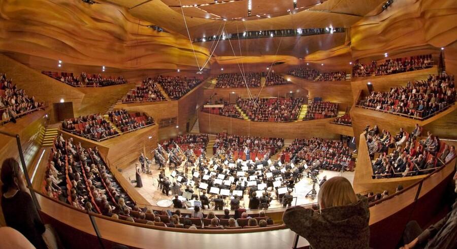 DR SymfoniOrkestret i DR Koncerthuset. Arkivfoto: Heine A. Pedersen