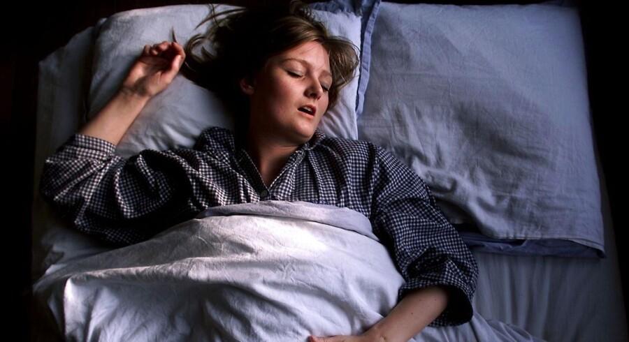 Omkring 40.000 danskere er i behandling for søvnapnø, men eksperter vurderer, at op til fem gange så mange lider af sygdommen. - Arkivfoto