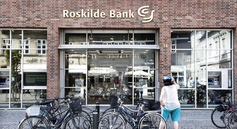 Finansiel Stabilitet vil sælge en portion bankkunder fra, som de har overtaget fra de krakkede pengeinstitutter, herunder Roskilde Bank.