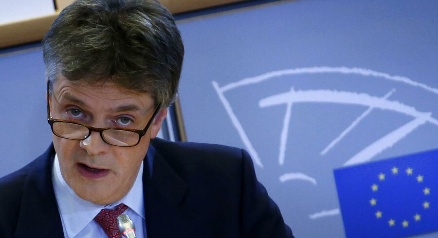 Britiske Jonathan Hill er kandidat til posten som EU-kommissær for finansiel stabilitet.