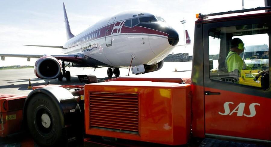 3. maj kollapsede Cimber Sterling. Al selskabets trafik blev indstillet og selskabets fly blev trukket i hangar. Her i kastrup Lufthavn.